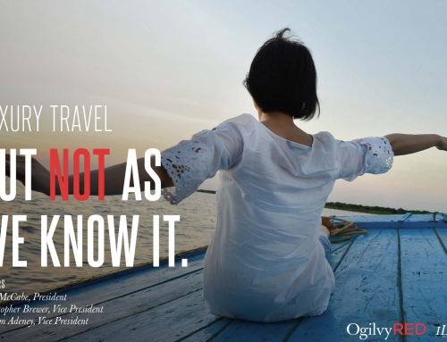 Luxury travel but not as we know it